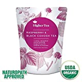 Raspberry and Black Cohosh Tea. Perfect Cooling, calming tea for menopause symptoms like hot flashes, sweats and tiredness.
