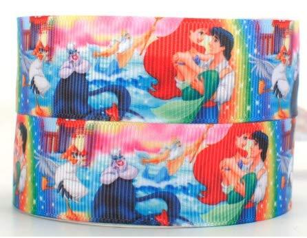Sirenita grogrén 2 mx 22 mm para tarta de cumpleaños o regalos lazos, tarjetas, artesanía