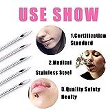 Ear Nose Piercing Needles - BoChang 50Pcs Mixed
