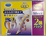 Dr. Scholl Japan Medi QttO Full Leg Socks Make it a Beautiful Leg During Sleep, 2 Packs (M)