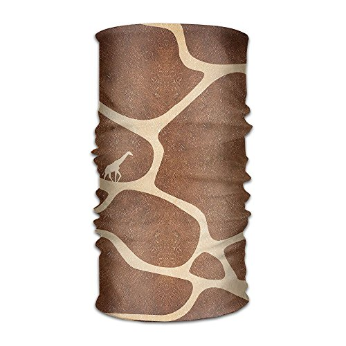 16-in-1 Multifunctional Headwear Magic Scarf Abstract Giraffe Painting Neck Gaiter Headband Bandana For Motorcycle Running Fishing Hiking Workout Yoga Fitness Cycling Exercise