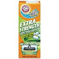 Arm & Hammer Deodorizing Carpet Cleaning Powder, Fresh, 30 oz - six boxes per case.