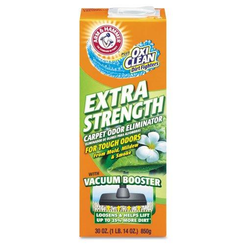 Arm & Hammer Deodorizing Carpet Cleaning Powder, Fresh, 30 oz - six boxes per (Carpet Deodorizing Powder)
