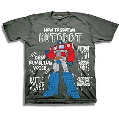 Transformers Toddler Little Boys Spot An Autobot T-Shirt