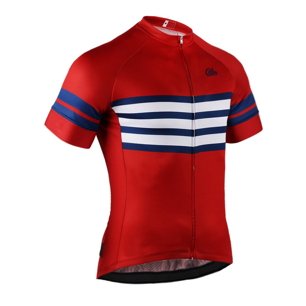 Amazon.com   Celero Men s Cycling Suits Short Sleeve Bike Jersey and Bib  Shorts   Sports   Outdoors d686c1718