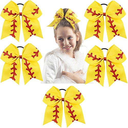 "CN 7"" Baby Girls Large Bow Boutique Grosgrain Ribbon"
