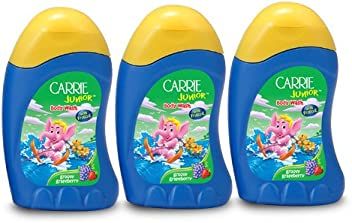 Carrie Junior Body Wash, Groovy Grapeberry, 100ml (Buy 2 Get 1 Free)