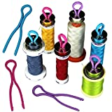10/20/30PCS Bobbin Keep Your Bobbin Threads Matched Up with Your Thread Spools (30 PCS)