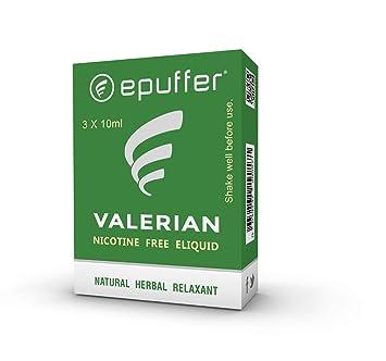 EPUFFER Valerian Natural Relaxant Vape e-Juice | Sleeping Aid E-Liquid |  Nicotine Free | 30 ML