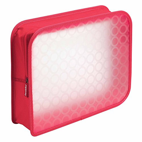 Pendaflex Zip Wallet Poly File, 3 Inch Expansion, Pink or Blue (No Color Choice), Each (27909) - Globe Weis Fabric