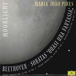 """Beethoven: Sonatas """"Quasi Una Fantasia"""" - Maria João Pires"""