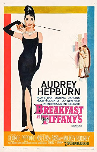 Studio B Breakfast at Tiffany's Audrey Hepburn Poster 36 x 24 Movie ()