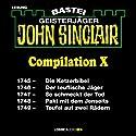 John Sinclair Compilation X: Band 1745 - 1749 Hörbuch von Jason Dark Gesprochen von: Carsten Wilhelm