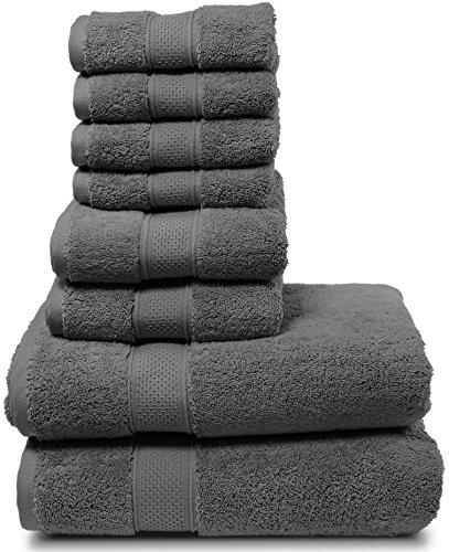 Spa Quality Towels: Luxury Bath Towel Set. Hotel & Spa Quality. 2 Large Bath