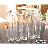 ハーバリウムガラス瓶・ハーバリウムボトル200ml<5本セット>