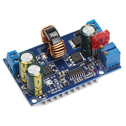 Buck Boost Converter, DROK DC 5-32V to DC 1.25-20V 60W Constant Voltage Current Volt Regulator Module
