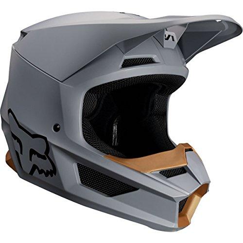 2019 Fox Racing V1 Matte Men's Off-Road Motorcycle Helmet - Stone/Small