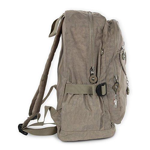 Rucksack, Handtasche stone, braun Nylon Damen Cityrucksack Bag Street  OTJ604L ... c7a8ec07c6