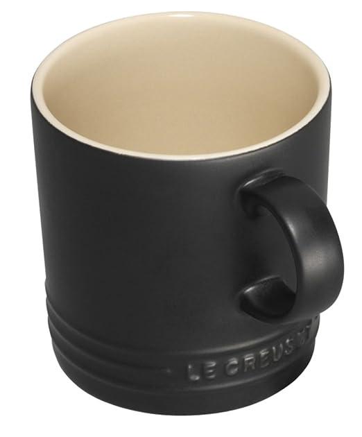 30 opinioni per Le Creuset Tazza mug in gres 350 ml , colore: Nero satinato