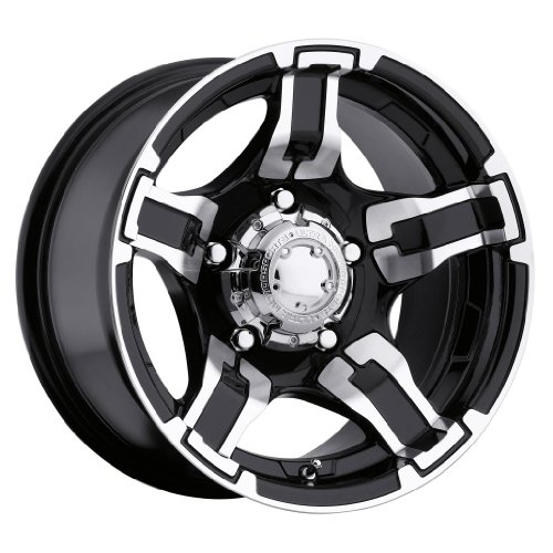 Ultra Drifter 15 Black Wheel / Rim 5x4.5 - Truck Tires And Rims Packages