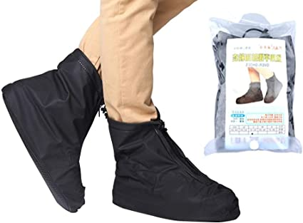 Recyclable Latex Anti Slip Waterproof Shoe Covers Cleaning Overshoes Protective