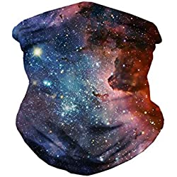 INTO THE AM Milky Way Seamless Mask Bandana