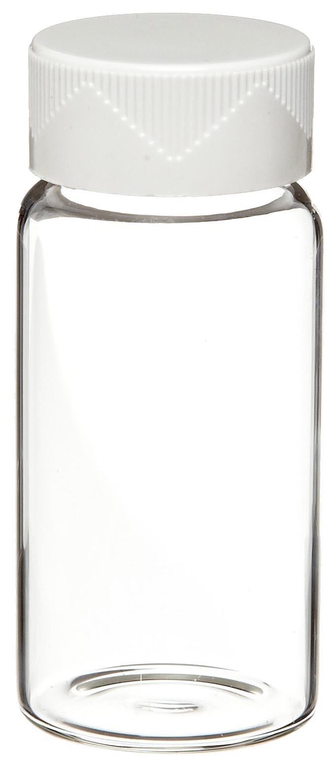 Kimax 74500-20 Glass 20mL Scintillation Vial, with Urea/Cork-Foil Cap/Liner (Case of 500)