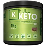 Exogenous Ketones Supplement Full Keto | (15g Per Serving = 15 Minutes to Ketosis) | Chef Formulated Chocolate Flavor Beats Every Taste Test