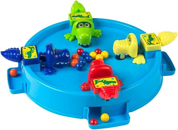 Colorbaby-43637 Juego del cocodrilo, Multicolor (43637): Amazon.es: Juguetes y juegos