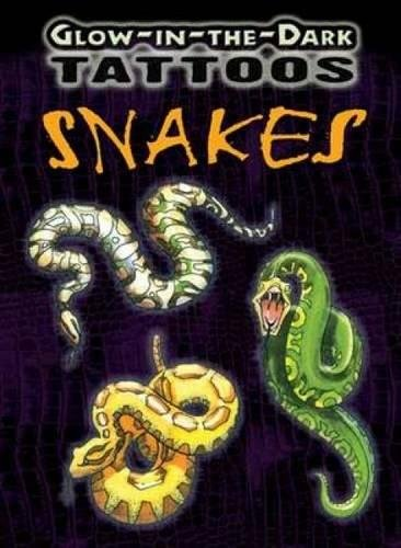 Glow-In-The-Dark Tattoos Snakes (Dover -