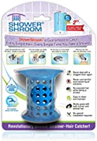 """ShowerShroom the Revolutionary 2"""" Stand-Up Shower Stall Drain Protector Hair Catcher/Strainer"""