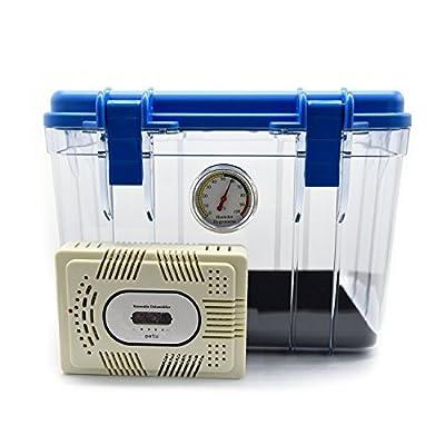 Patu Photography Gear Dry Box & Mini Renewable Dehumidifier