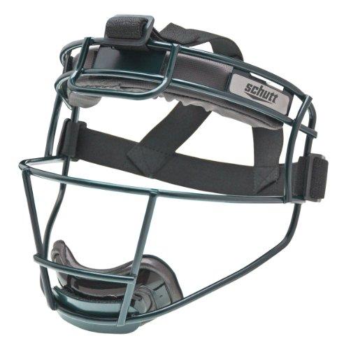 - Schutt Sports Softball Titanium Fielder's Guard Mask, Adult, Dark Green