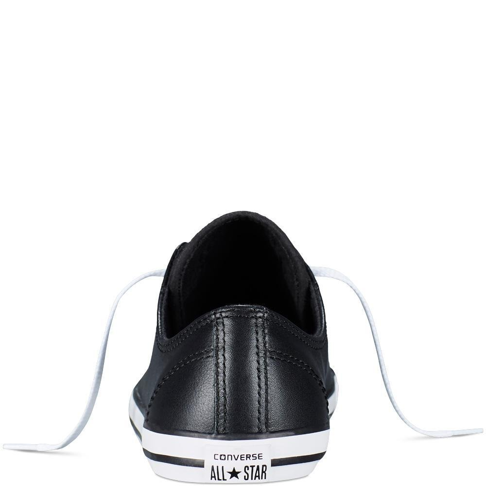 Converse Women's Chuck Taylor All Star Dainty Ox B00AKCAUH6 6 B(M) US Black Leather