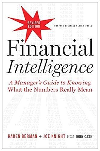 Pdf karen berman financial intelligence