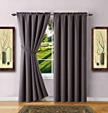 dark grey curtains ikea Warm Home Designs 1 Pair of 2 Long Size 54