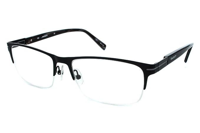Amazon.com: Hackett London Large Fit HEK1111 Mens Eyeglass Frames ...