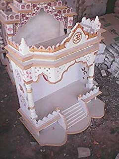 Ru0026M Marble 30*18 Inch Temple For Puja Office Home Place