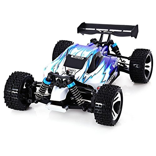 Toy, Play, Game, WLtoys A959 Electric RC Car Nitro 1/18 2.4Ghz 4WD Remote Control Car High Speed Off Road Racing Car RC Monster Truck For Kids, Kids, - Nitro Trucks Control Remote