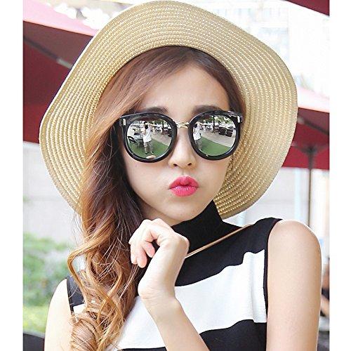 Gafas YQQ Deporte para De sol 2 Mujer Moda Sol Gafas Gafas Sol 4 Vintage Anti Reflexivas Gafas Color HD De de Gafas De Polarizadas Reflejante Conducción De rrfwY