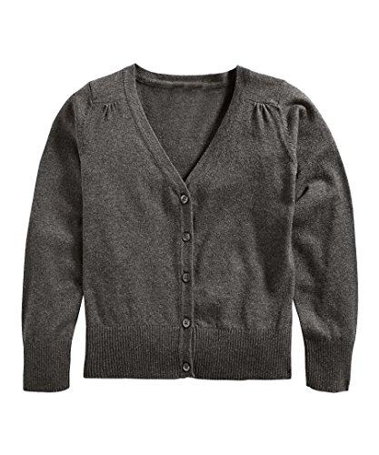 Hollywood Star Fashion Khanomak Kids Girls V Neck Cardigan Sweater (Sizes 3T- 14 Yrs)