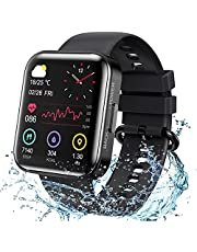 KOSPET Magic3 Fitness Smart Watch , with Blood Oxygen and Blood Pressure Test, Heart Rate and Sleep Monitoring, IP68 Waterproof, 1.71-inch 3D Curved Full Touch Screen-Black