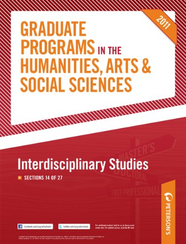 Peterson's Graduate Programs in the Interdisciplinary Studies 2011: Section 14 of 27