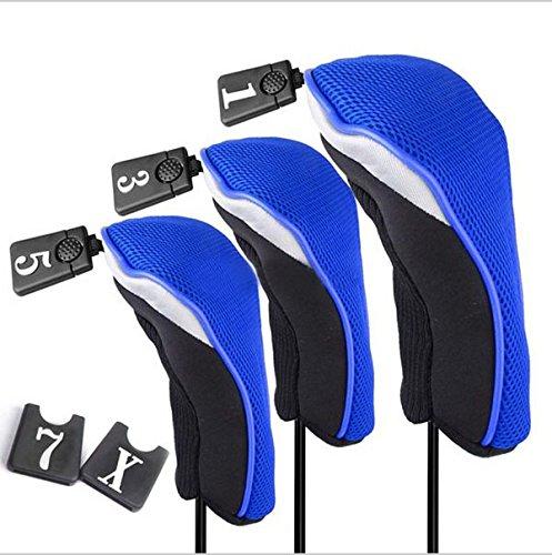 adahill (TM) cuatro colores fundas para cabezas de palos de ...