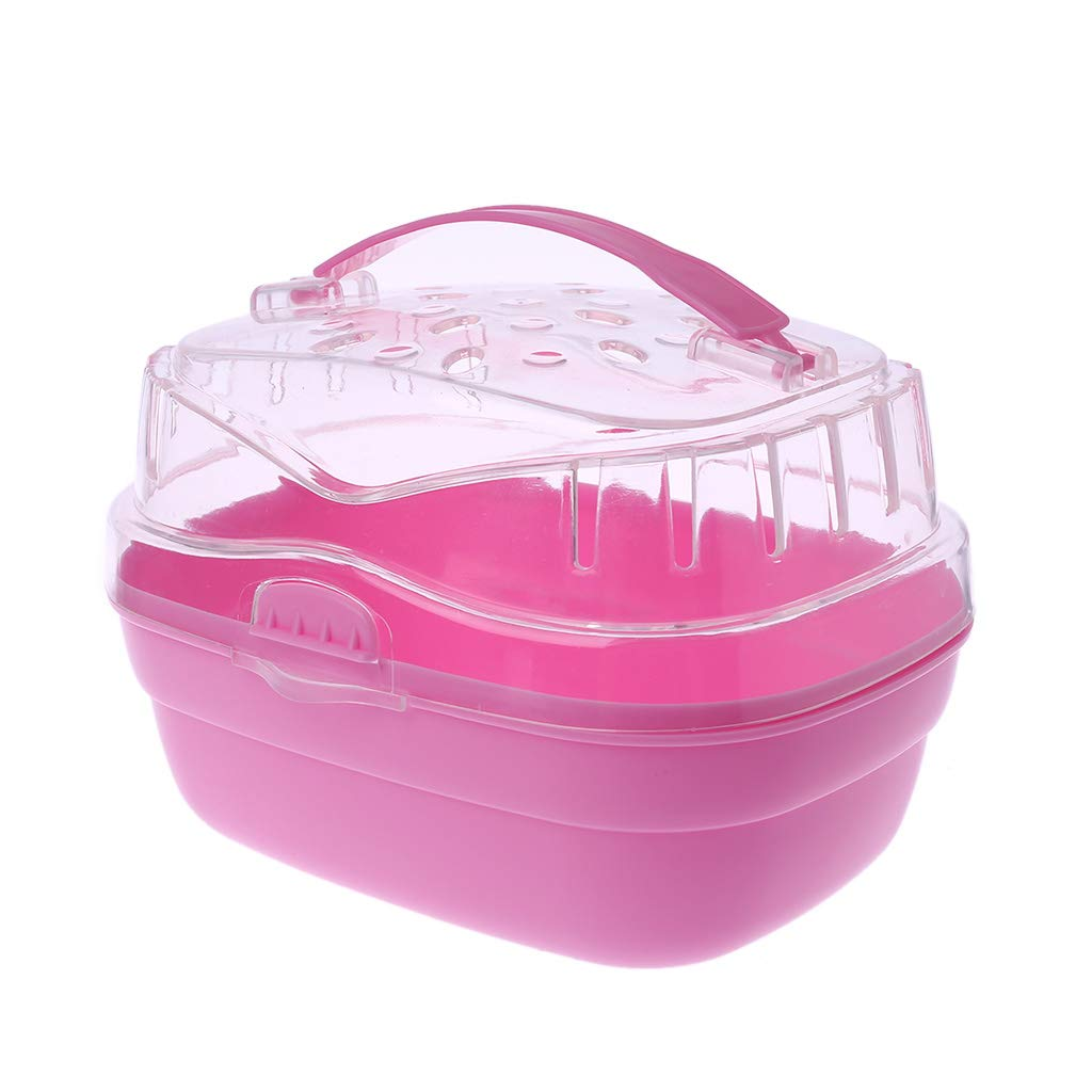Autone Hamster Carrier,Pet Portable Outdoor Carrier, Small Animal Guinea Pig Go Out Box