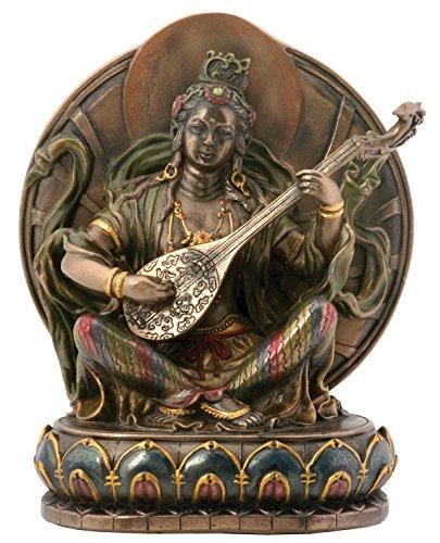 YTC Sarasvati Collectible Figurine Statue Sculpture Figure Buddha Buddhism