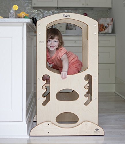 1 Kids Step Stool W Safety Rail ★ Little Partners