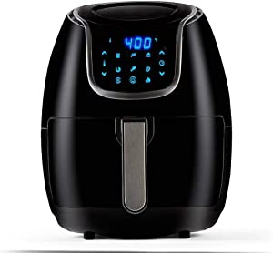 PowerXL Vortex Air Fryer - 3qt - Black/As Seen on TV