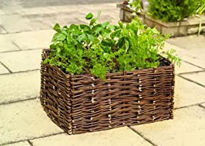 Gardman Cache-pot pour légumes d'été en saule