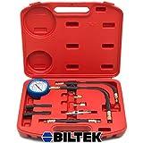 0-100 PSI Fuel Injection Pump Injector Tester Test Pressure Gauge Gasoline Cars